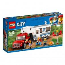 LEGO® City Great Vehicles   Pikapas ir namelis ant ratu   60182