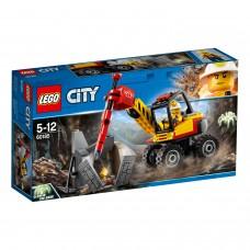 LEGO® City Mining   Kalnakasiu skaldymo irenginys   60185