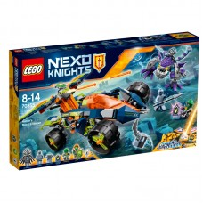 LEGO® NEXO KNIGHTS™ |  Aaron kopimo į uolas mašina | 70355