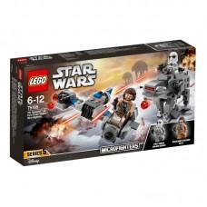 LEGO® Star Wars™ | Mažieji kovotojai Ski Speeder™ prieš First Order Walker™ | 75195