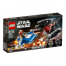 LEGO® Star Wars™ A-Wing™ vs. TIE Silencer™ Microfighters 75196
