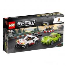 LEGO® Speed Champions   Porsche 911 RSR and 911 Turbo 3.0   75888