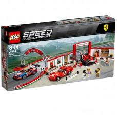 LEGO® Speed Champions | Įspūdingiausias Ferrari garažas | 75889