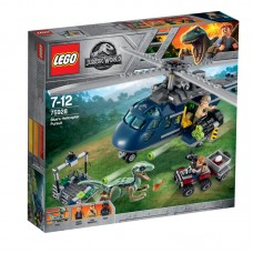 LEGO® Jurassic World I Blue persekiojimas sraigtasparniu I 75928