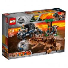 LEGO® Jurassic World | Karnotauro pabėgimas girosferoje  | 75929