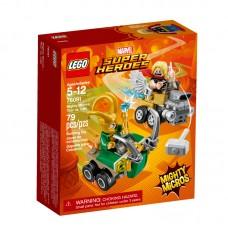 LEGO® Marvel Super Heroes | Galingi mažieji: Toras prieš Loki | 76091