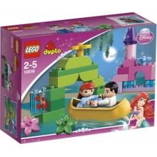 LEGO DUPLO Stebuklinga Undinėlės valtis 10516
