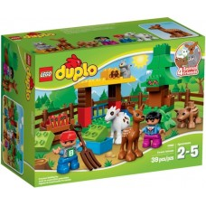 LEGO DUPLO Miškas: Gyvūnai 10582