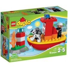 LEGO DUPLO Ugniagesių laivas 10591