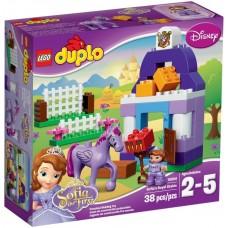 LEGO DUPLO Sofijos pirmosios karališkos arklidės 10594