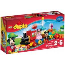 LEGO DUPLO Mikio ir Minės gimtadienio paradas 10597