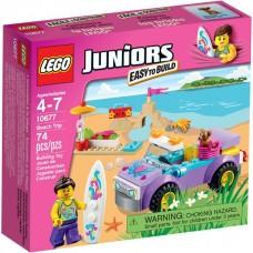 LEGO Juniors Iškyla paplūdimyje 10677