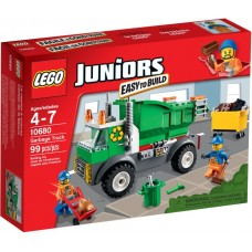 LEGO Juniors Šiukšlių sunkvežimis 10680