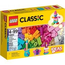 LEGO Classic Šviesių spalvų kaladėlių papildymas 10694
