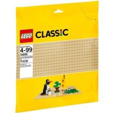 LEGO Classic Smėlio spalvos statymo lentelė 10699