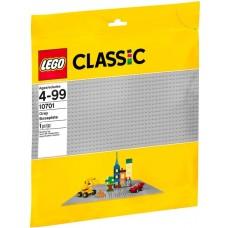 LEGO® Classic Pilka pagrindo plokštė 10701