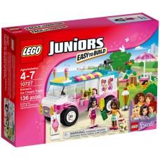 LEGO Juniors Emos ledų vagonėlis 10727