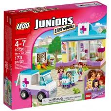 LEGO Juniors Mijos veterinarijos klinika 10728