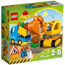 LEGO DUPLO Ekskavatorius ir sunkvežimis 10812