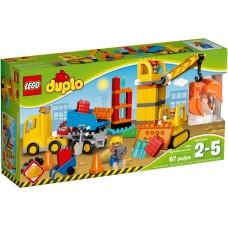 LEGO DUPLO Didelė statybų aikštelė 10813