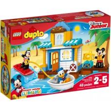 LEGO DUPLO Peliuko Mikio ir draugų paplūdimio namelis 10827