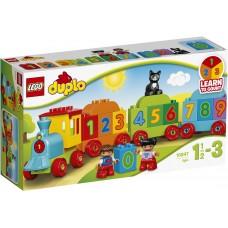 LEGO DUPLO Skaičių traukinukas 10847