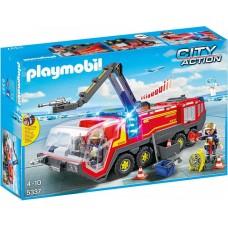 Playmobil Oro uosto gaisrinė mašina su šviesomis ir garsais 5337