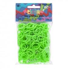 Rainbow Loom® Neoninės tamsiai žalios spalvos gumyčių papildymas