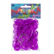 Rainbow Loom® Neoninės violetinės spalvos gumyčių papildymas