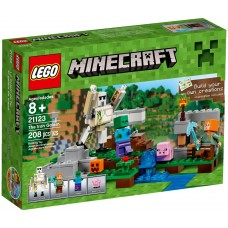 LEGO Minecraft Geležinis Golem 21123