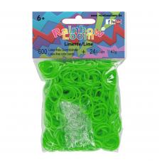 Rainbow Loom® Šviesiai žalios spalvos gumyčių papildymas
