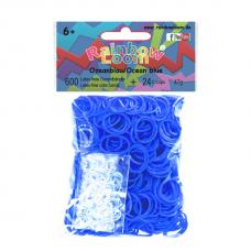 Rainbow Loom® Šviesiai mėlynos spalvos gumyčių papildymas