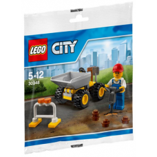 LEGO City Darbininkas 30348