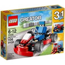 LEGO Creator Raudonas kartingas 31030