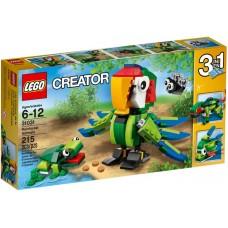 LEGO Creator Lietingųjų miškų gyvūnėliai 31031