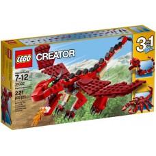 LEGO Creator Raudoni gyvūnai 31032