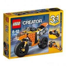 LEGO Creator Gatvės motociklas 31059