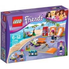 LEGO Friends Hartleiko riedlenčių parkas 41099