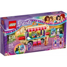 LEGO Friends I Pramogų parkas: dešrainių vagonėlis I 41129