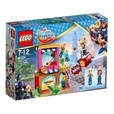 LEGO Super Heroes Girls Harlė Quin į pagalbą 41231