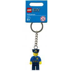 LEGO City Raktų pakabukas Policininkas 850933