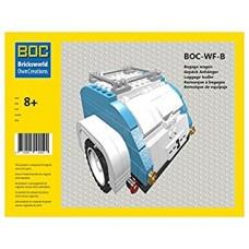 LEGO BOC-WF-B šviesiai mėlynos ir baltos spalvų bagažinė