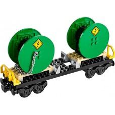 LEGO City Vagonas su ritėmis iš rinkinio 60052