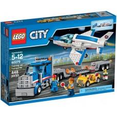 LEGO City I Mokomojo lėktuvo transporteris I 60079