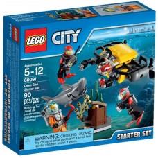 LEGO City Gilios jūros labaratorija 60091