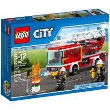 LEGO City Gaisrininkų sunkvežimis 60107