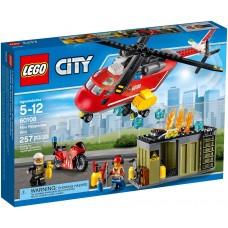 LEGO City Gaisrininkai 60108