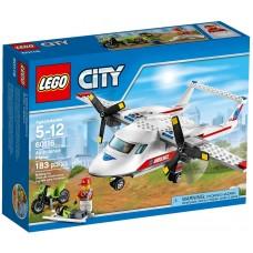 LEGO City Greitosios pagalbos lėktuvas 60116