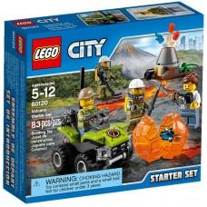 LEGO City Vulkanas: Pradedančiojo rinkinukas 60120