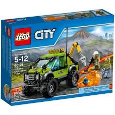 LEGO City Vulkanas: Tyrinėjimų sunkvežimis 60121